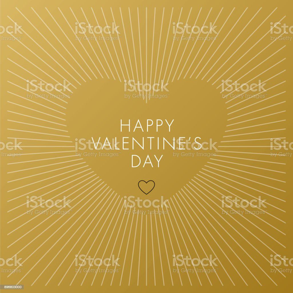 Valentine's Day Card. royalty-free valentines day card stock illustration - download image now