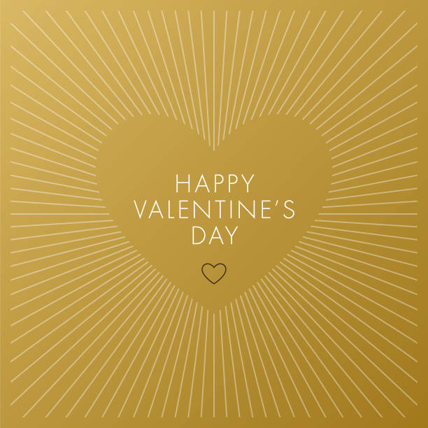 Valentine's Day Card. vector art illustration