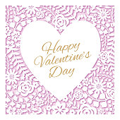 Valentine's Day Card - Illustration