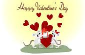 Valentine's day celebrate.