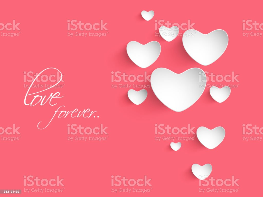 Valentines day celebration greeting card with hearts stock vector valentines day celebration greeting card with hearts royalty free valentines day celebration greeting card kristyandbryce Images