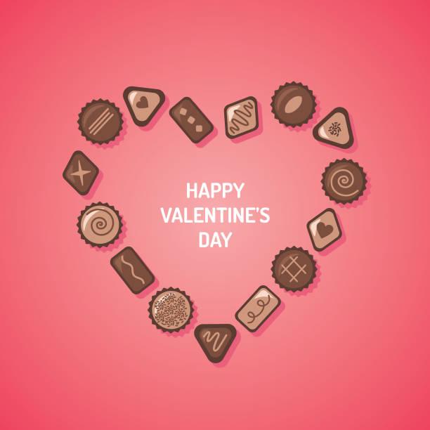 Valentine Chocolate Vector Art Graphics Freevector Com