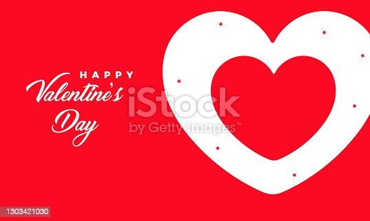 istock Valentines day concept stock illustration 1303421030