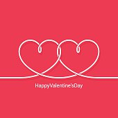 valentines day concept vector background 10 eps