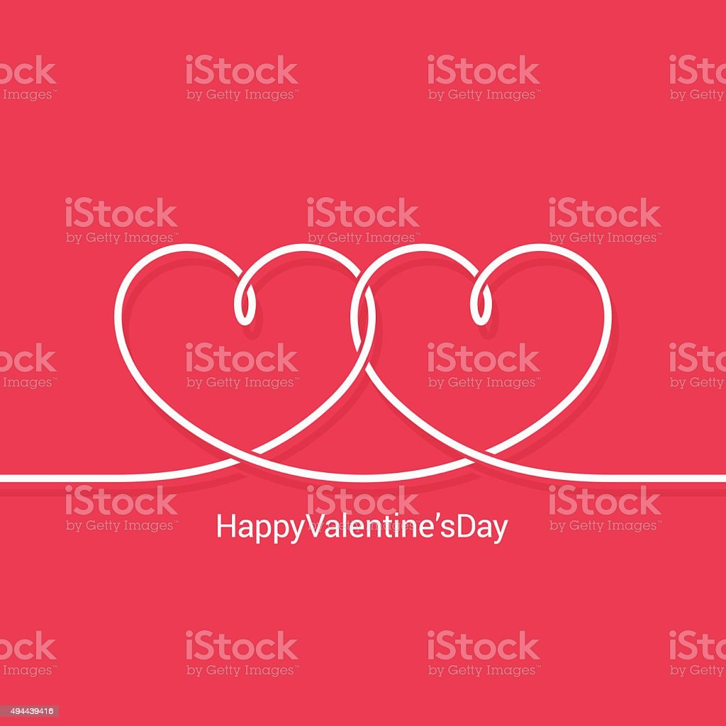 valentines day concept vector background vector art illustration