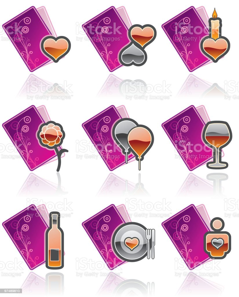 Valentine's Day. Design Elements royalty-free valentines day design elements stock vector art & more images of adult