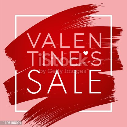 istock Valentine's Day design for advertising, banners, leaflets and flyers. 1126186921