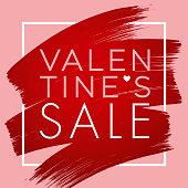 Valentine's Day design for advertising, banners, leaflets and flyers. - Illustration