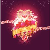 Vector illustration for valentine's day or for any day when love is in the air.