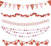 istock Valentines Day Garlands 165807746