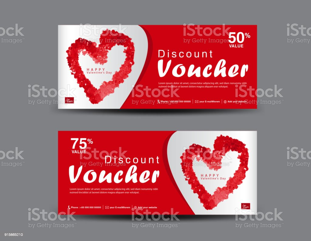Valentines day gift voucher template layout business flyer design valentines day gift voucher template layout business flyer design certificate coupon ticket 1betcityfo Image collections