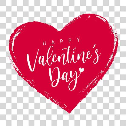 Valentine's Day Greeting Message Label