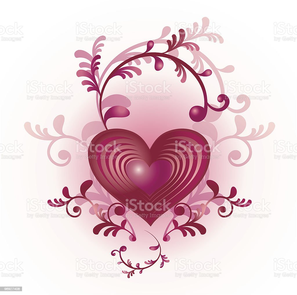 Valentine's Day heart royalty-free valentines day heart stock vector art & more images of abstract