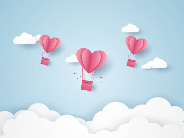 Download Heart Balloon Illustrations, Royalty-Free Vector Graphics ...