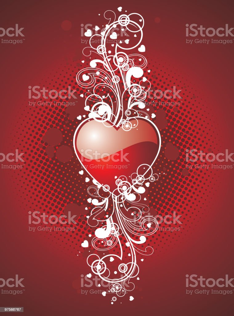 Valentine's day illustration royalty-free valentines day illustration stock vector art & more images of abstract