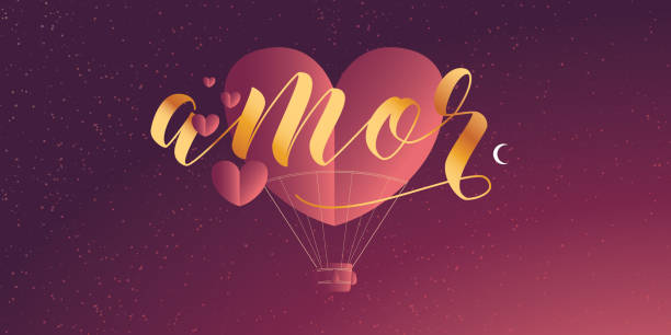 Valentines Day Layout vector with typography Ilustração vetorial com tipografia para celebração do dia dos namorados no Brasil boyfriend stock illustrations