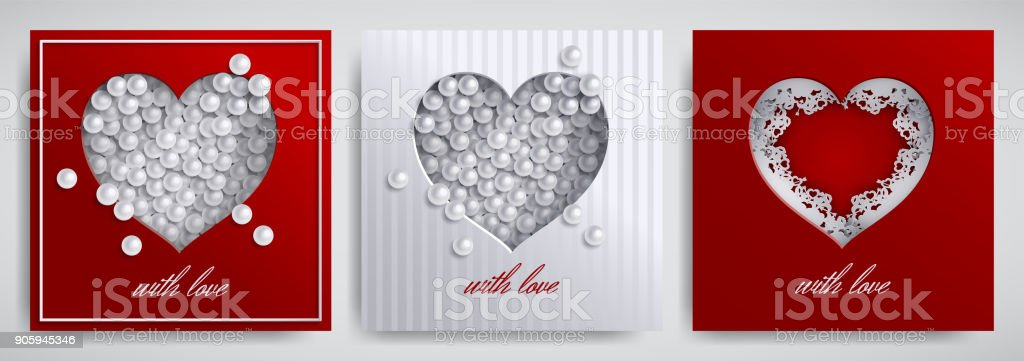 Valentines day mothers day design set greeting card banner valentines day mothers day design set greeting card banner collection cutted paper m4hsunfo Images