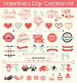 This kit of 30+ illustrations is designed especially for Valentine's Day. Great resource to use for Web and Print designs