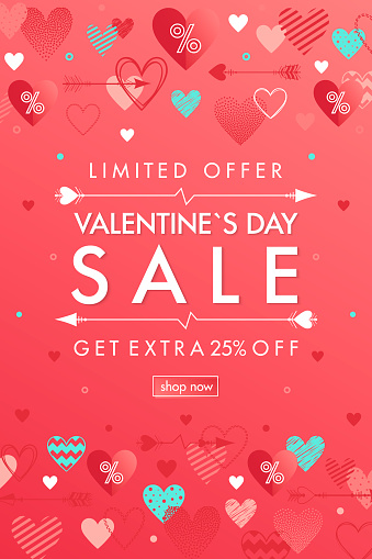 Valentines Day special offer banner