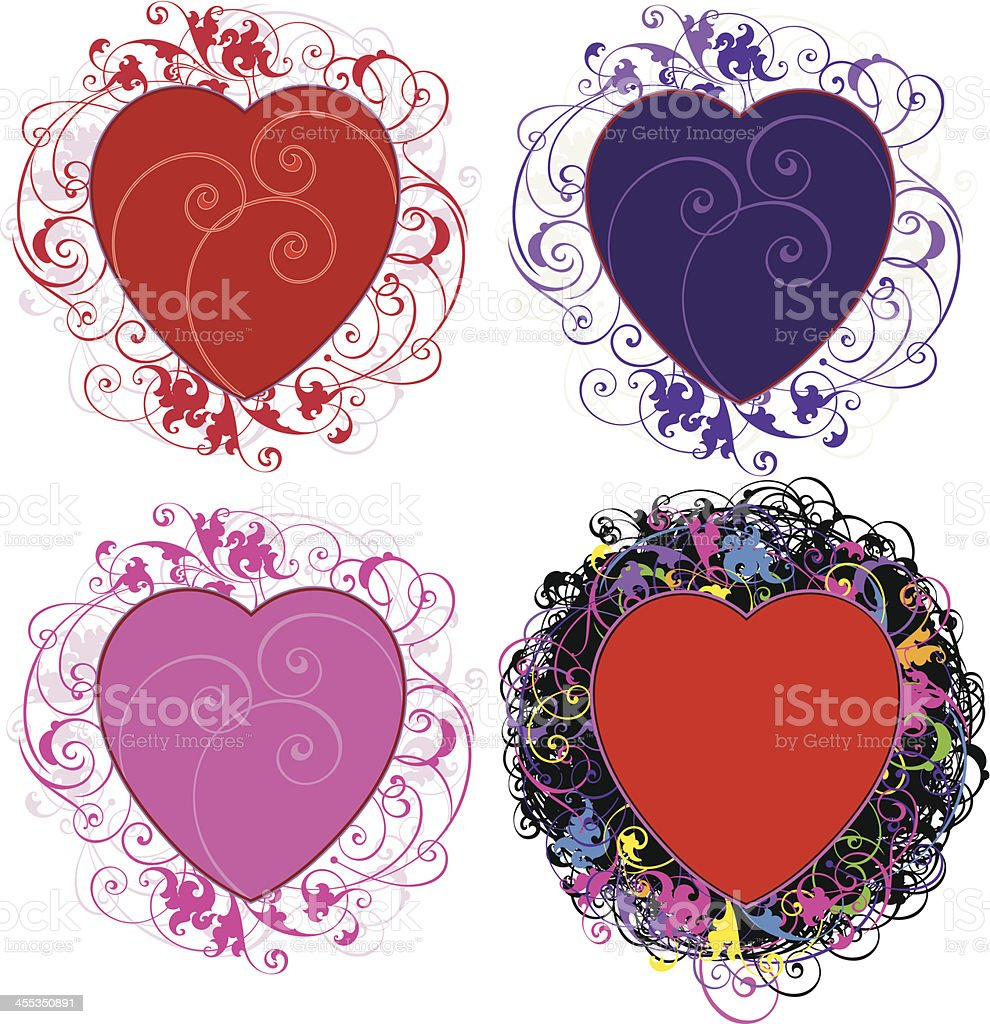 Valentines Day vector art illustration
