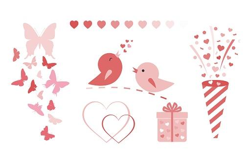 Valentine's day vector.