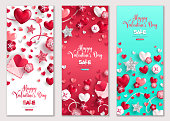 Valentines Day vertical cards