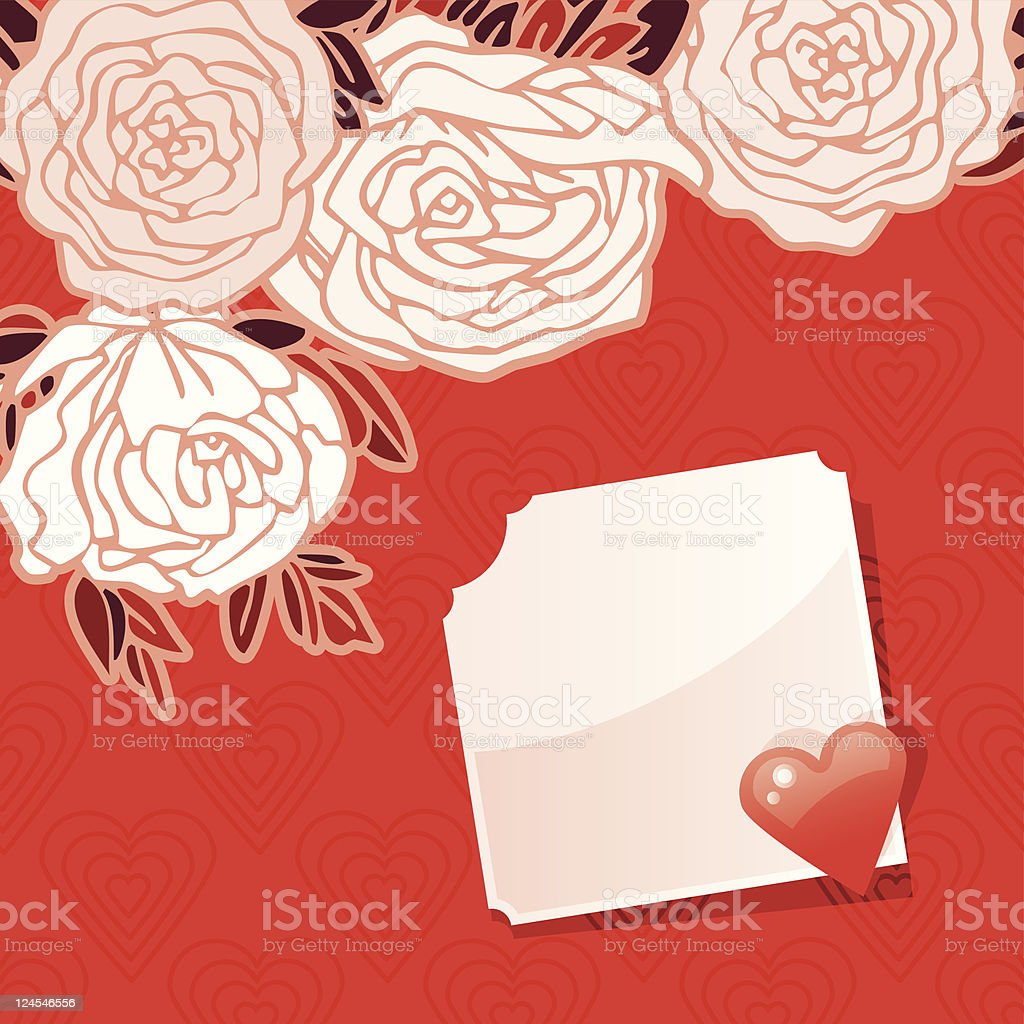 Valentine's Greeting Card royalty-free valentines greeting card stock vector art & more images of backgrounds