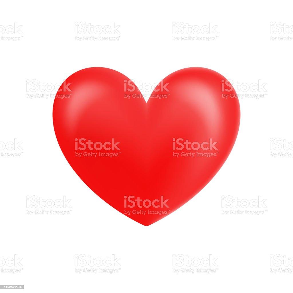 coeur saintvalentin brillant coeur réaliste pour saint valentin