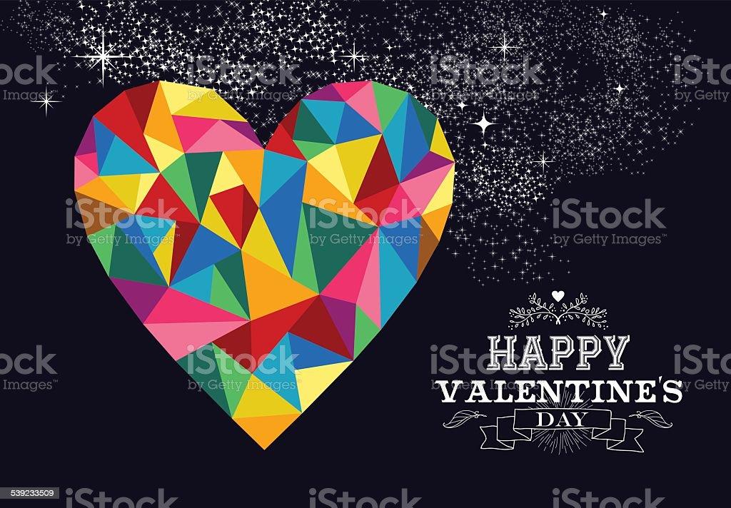 Corazón de San Valentín amor ilustración. ilustración de corazón de san valentín amor ilustración y más banco de imágenes de 2015 libre de derechos