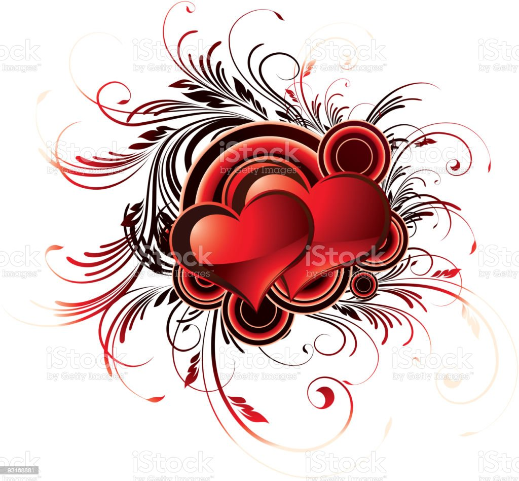 valentines heart royalty-free valentines heart stock vector art & more images of abstract