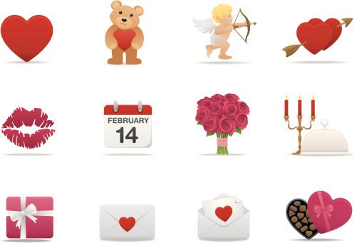 Valentines icons | Premium Matte series