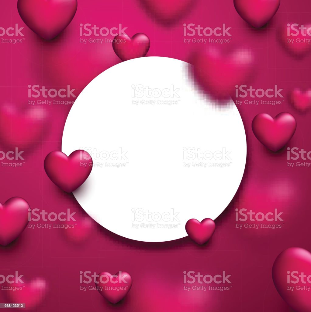 valentines love background with hearts のイラスト素材 638423510 istock