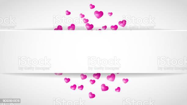 Valentines paper frame with gold glitter hearts february 14th day vector id909364926?b=1&k=6&m=909364926&s=612x612&h=w1j iztp529ugn2hipw q cljaxk54q1bfe6lftw ea=