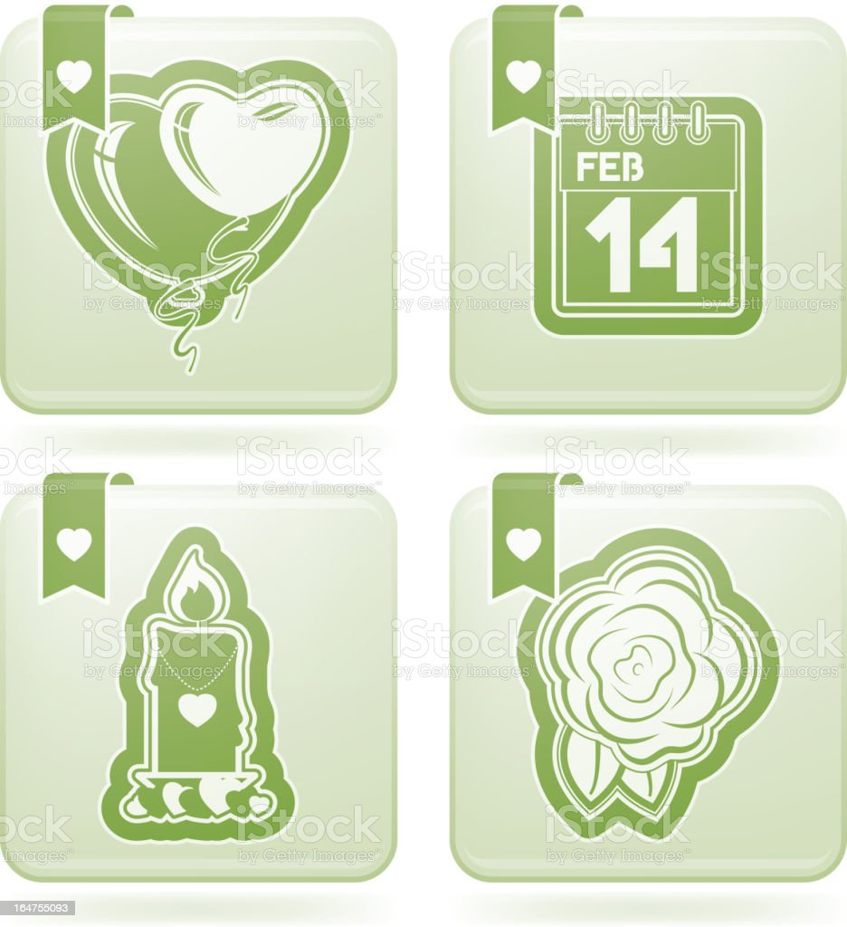 Valentines royalty-free valentines stock vector art & more images of green color