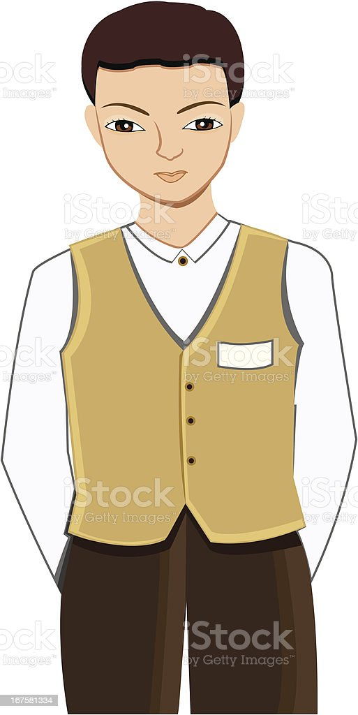 Valet Profession royalty-free valet profession stock vector art & more images of adult