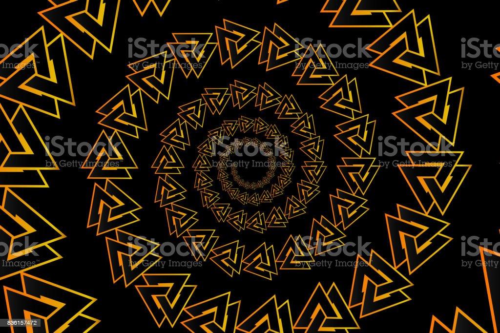 Valknut Vector Pattern Royalty Free Stock Art Amp More