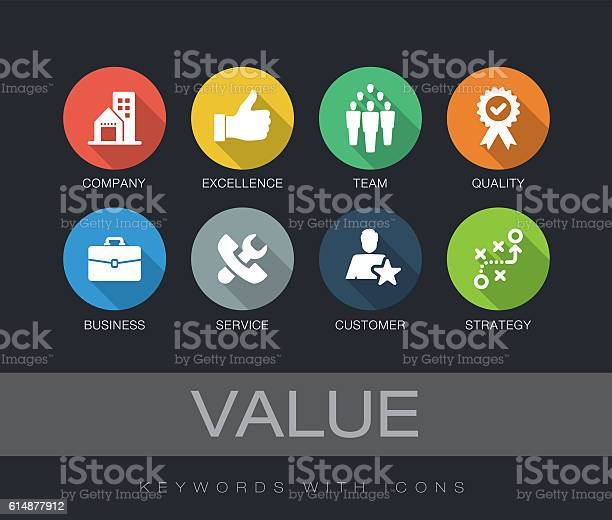 Value keywords with icons vector id614877912?b=1&k=6&m=614877912&s=612x612&h=rqdiiwwfomgkxryiybwklp9dvq jiajilofahb9xjj8=