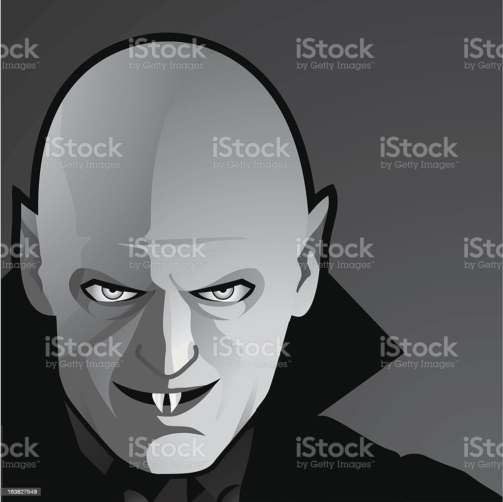Vampire in black and white (close-up) royalty-free vampire in black and white stock vector art & more images of celebration event