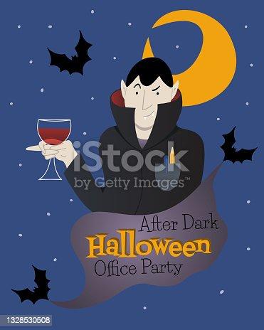 istock Vampire poster 1328530508