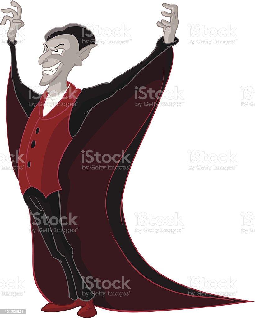 Vampire royalty-free stock vector art