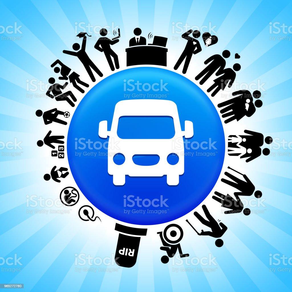 Van  Lifecycle Stages of Life Background van lifecycle stages of life background - stockowe grafiki wektorowe i więcej obrazów adolescencja royalty-free