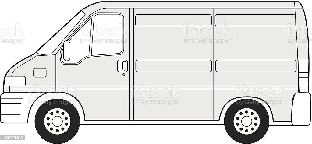 Van royalty-free stock vector art