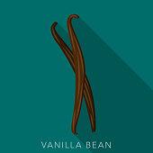 istock Vanilla Bean Herb and Spice Icon 1279254355