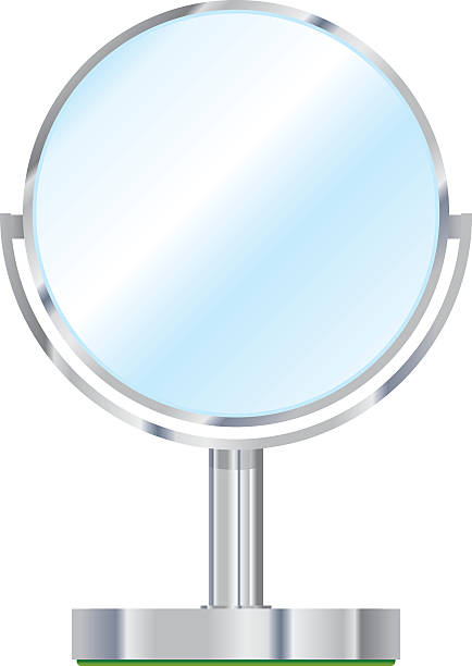 Royalty Free Vanity Mirror Clip Art Vector Images