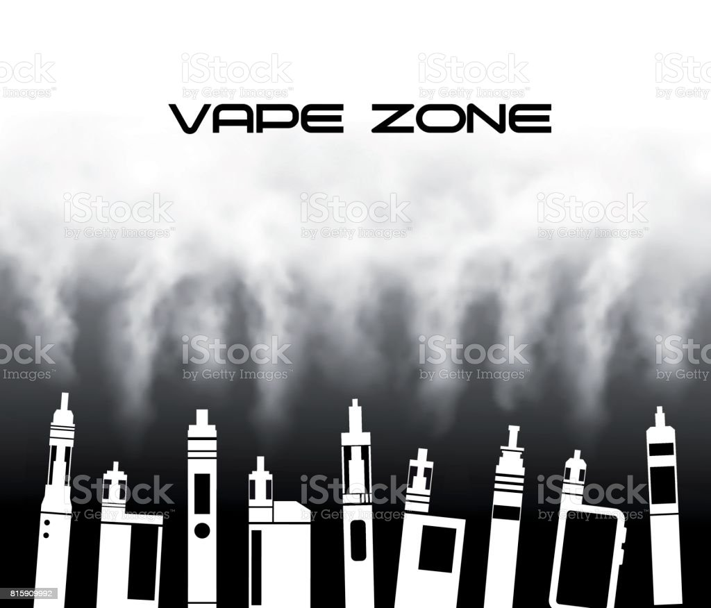 Vaporizers vector art illustration