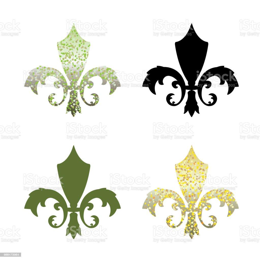 Fabelhaft Variarion Of Fleur De Lys Stock Vector Art & More Images of &TC_53