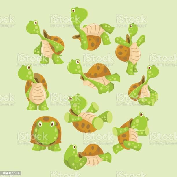 Variation of cute and cheerful green turtle behavior cartoon vector id1049157732?b=1&k=6&m=1049157732&s=612x612&h=wtej3pndl2nmbfoyp937ijnmsaargxudt zt4pi34nu=