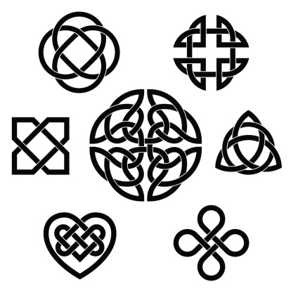 Variety of celtic knots
