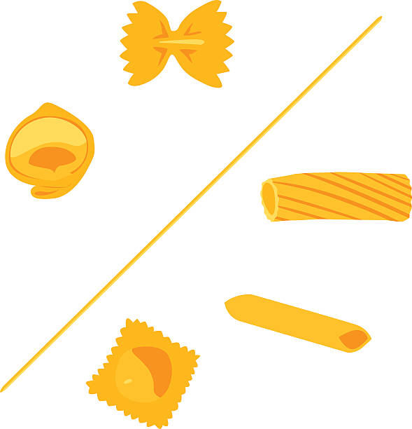 Variety of Vector shapes of pasta Tortellini, Spaghetti, Farfalle, Rigatoni, Macaroni, Penne, Ravioli... set of fully coloured italian pasta.  [img]http://www.dcheese.it/istock/lightbox/vector.jpg[/img]  [url=http://www.istockphoto.com/search/lightbox/4335360/?refnum=piccerella#dc5f55b][img]http://www.dcheese.it/istock/lightbox/pasta.jpg[/img][/url] [url=http://www.istockphoto.com/search/lightbox/4976023/?refnum=piccerella#13aa769e][img]http://www.dcheese.it/istock/lightbox/food.jpg[/img][/url] tortellini stock illustrations