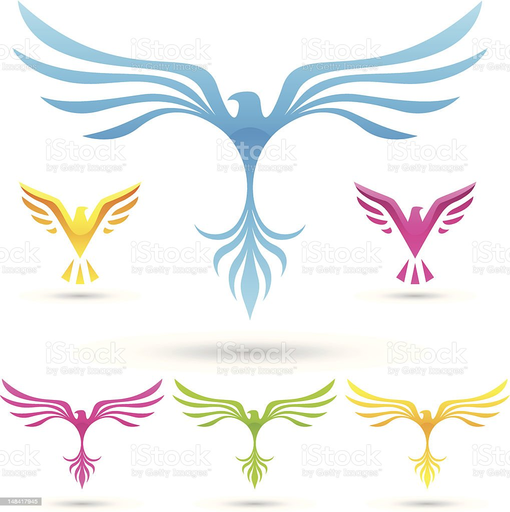 various birds icons royalty-free various birds icons stock vector art & more images of abstract
